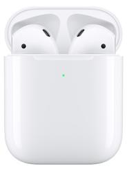 Беспроводные наушники Apple AirPods 2 с беспроводным зарядным футляром MRXJ2 Белый