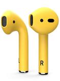 Наушники Apple AirPods 2 Color (без беспроводной зарядки чехла) Желтый