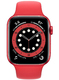 Часы Apple Watch Series 6 GPS 44mm Aluminum Case with Sport Band RED