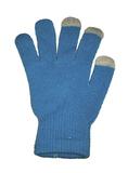 Перчатки для смартфона синие