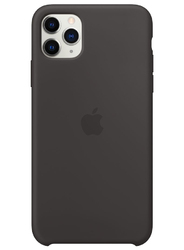 Чехол для iphone 11 Pro Max (SIlicon Case Black)