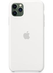 Чехол для iphone 11 Pro Max (SIlicon Case White)