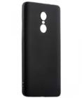 Чехол силиконовый черный для Xiaomi Redmi Note 4X